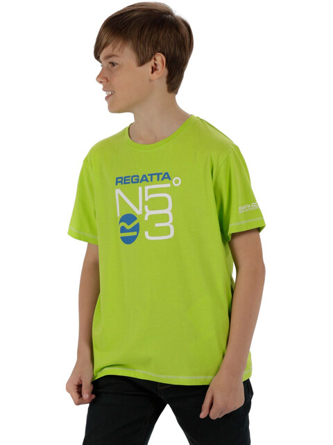 Regatta Bosley T-Shirt Kids Lime Zest